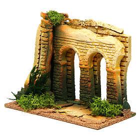 Double arcade miniature crèche Noel s2