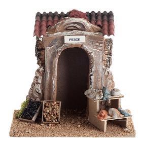 Poissonnerie miniature crèche Noel s1