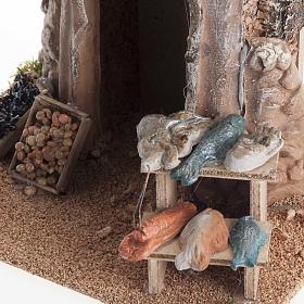 Poissonnerie miniature crèche Noel s2