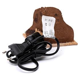 Braciere elettrico presepe s4