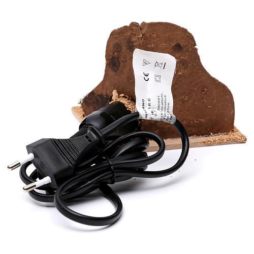 Braciere elettrico presepe 4