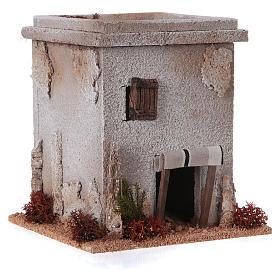 Mini maison arabe simple pour crèche Noel s3