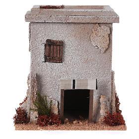 Nativity setting, simple Arabian house s1