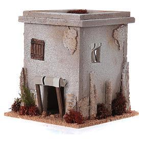 Nativity setting, simple Arabian house s2