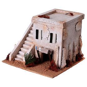 Casa araba con scala per presepe s2