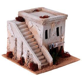 Casa araba con scala per presepe s3