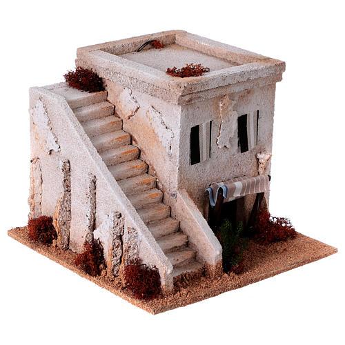 Casa araba con scala per presepe 3