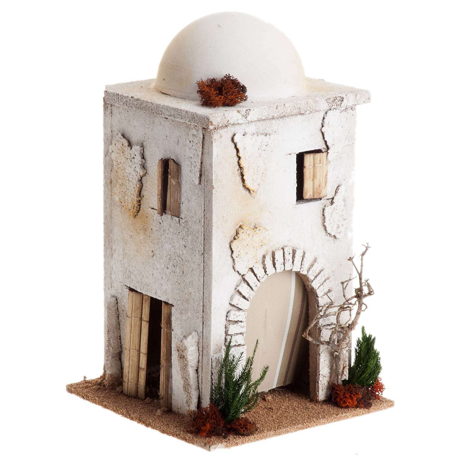 Casa araba con cupola per presepe 4