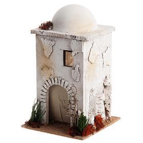 Casa araba con cupola per presepe s2