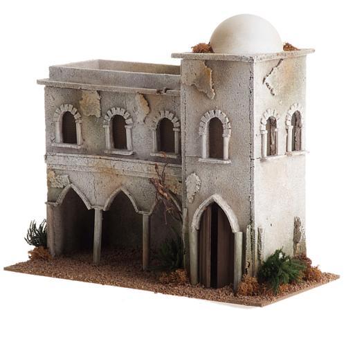 Casa araba con cupola e archi presepe 2