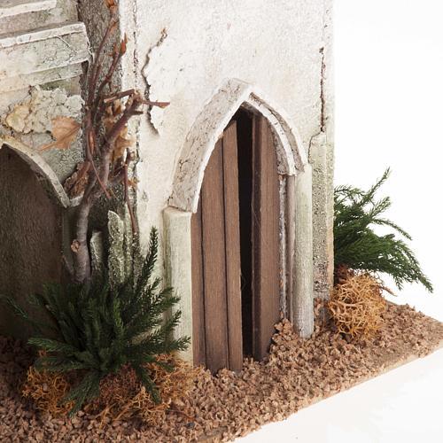 Casa araba con cupola e archi presepe 5
