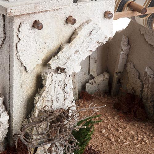 Nativity scene accessory, arabic-style hut 4