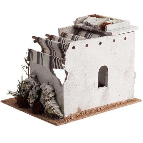 Nativity scene accessory, arabic-style hut 5