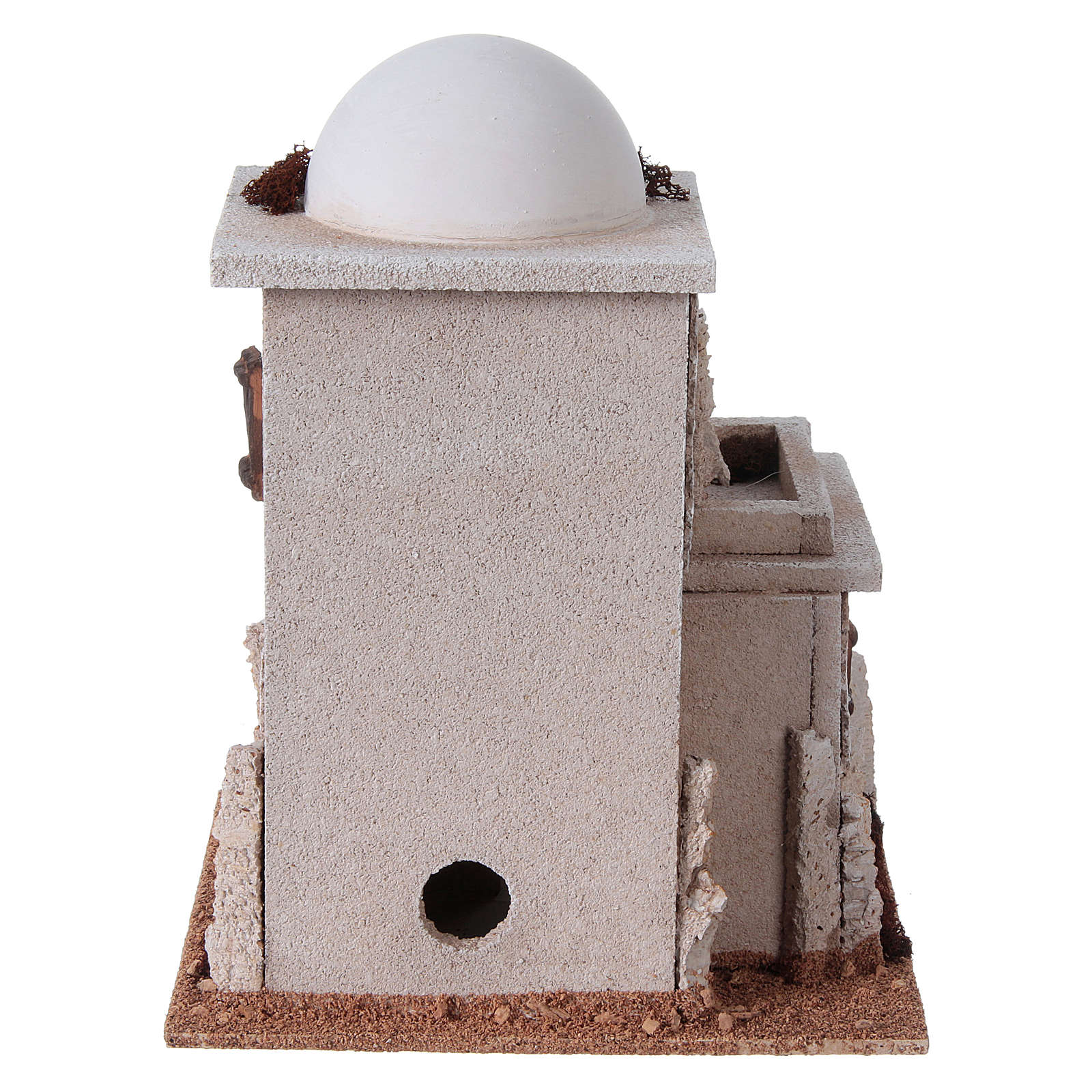 Casa araba doppia con cupola per presepe 4