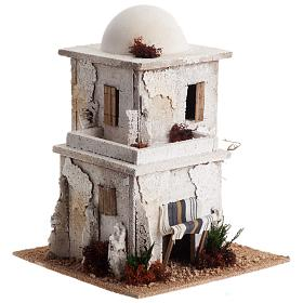 Casa araba doppia con cupola per presepe s2