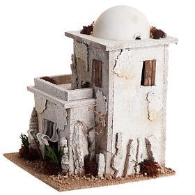 Casa araba doppia con cupola per presepe s5