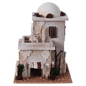 Casa araba doppia con cupola per presepe s1
