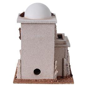 Casa araba doppia con cupola per presepe s4