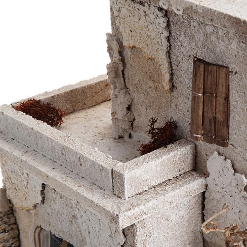 Casa araba doppia con cupola per presepe 6