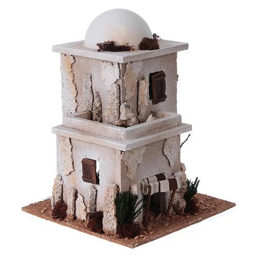 Casa araba doppia con cupola per presepe 3