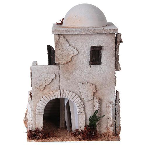 Minaret z kopułą i schodkami do szopki 1