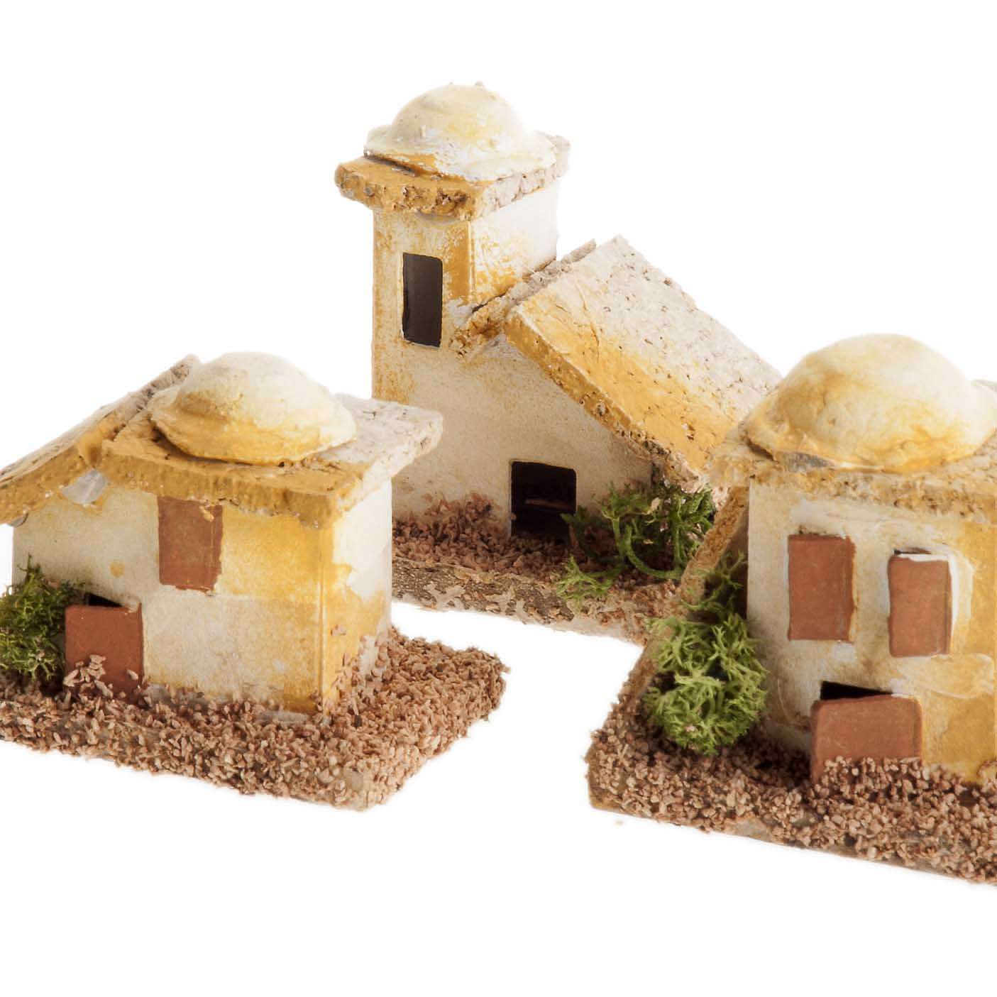 Mini maisons arabes pour crèche Noel 4