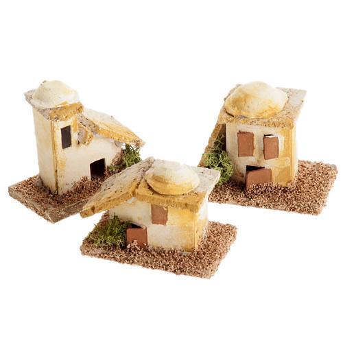 Mini maisons arabes pour crèche Noel 1