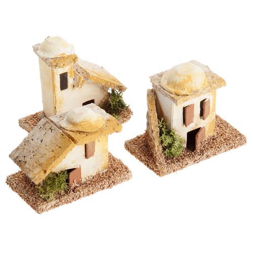 Mini maisons arabes pour crèche Noel 3