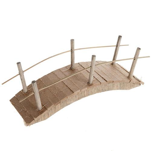 Ponticello legno scorrimano sottile 6X15 1