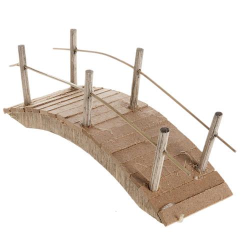 Ponticello legno scorrimano sottile 6X15 2
