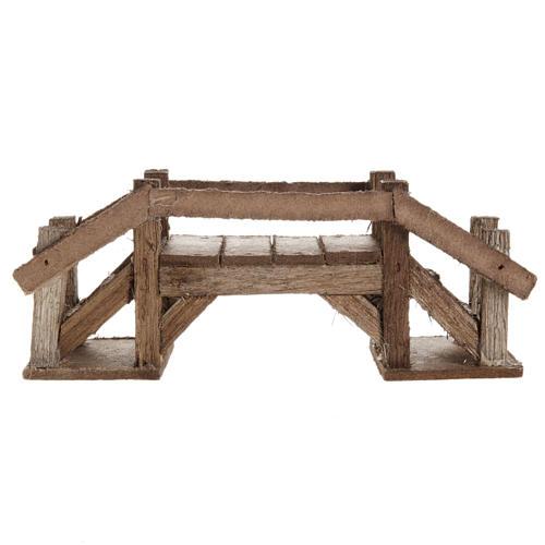 Ponte legno scuro presepe 2