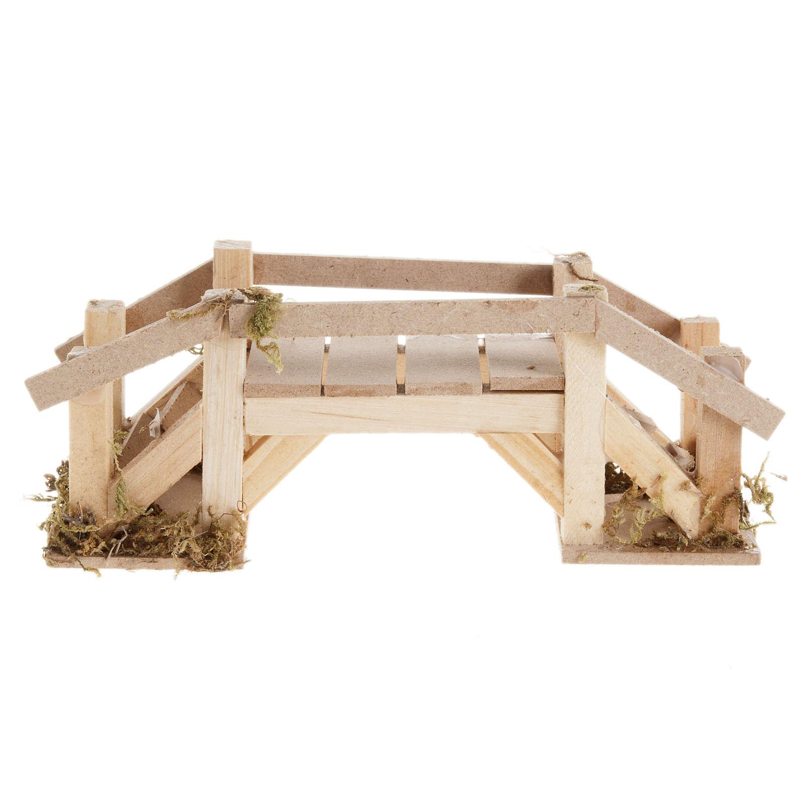 Ponte legno chiaro presepe 4