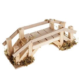 Ponte legno chiaro presepe s1