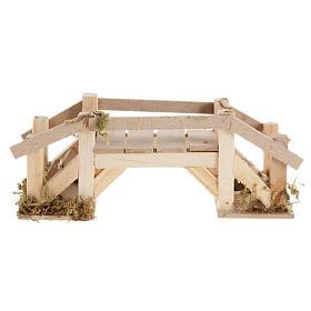 Ponte legno chiaro presepe s2
