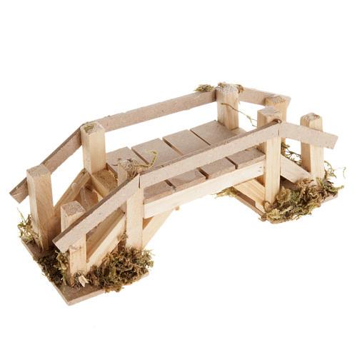 Ponte legno chiaro presepe 1