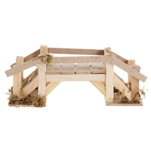 Ponte legno chiaro presepe 2