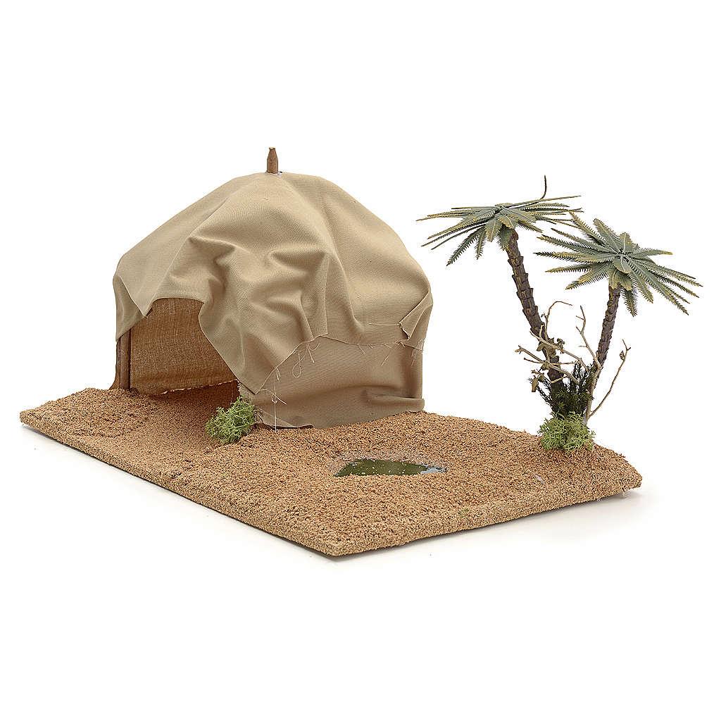 Oasis avec tente, milieu pour crèche 4