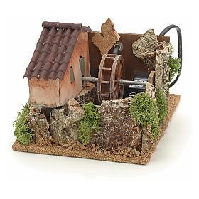 Nativity accessory, watermill 13x20x25 cm s1