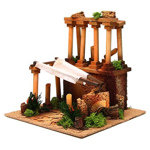 Ancient Roman ruins for Nativity scene 2