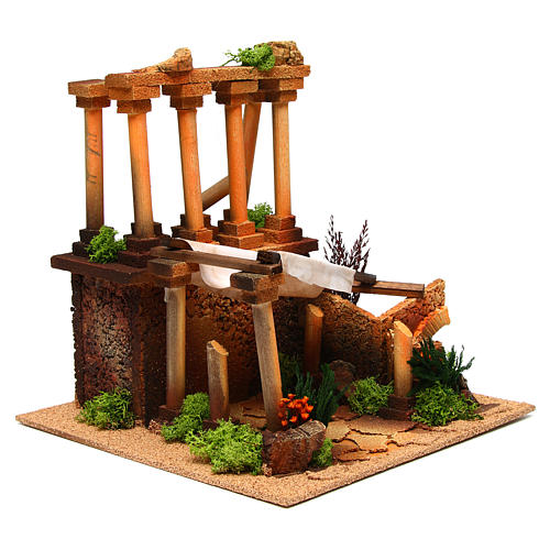 Ancient Roman ruins for Nativity scene 3