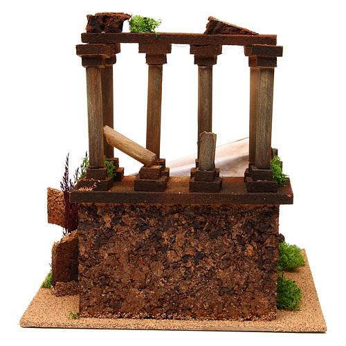 Ancient Roman ruins for Nativity scene 4