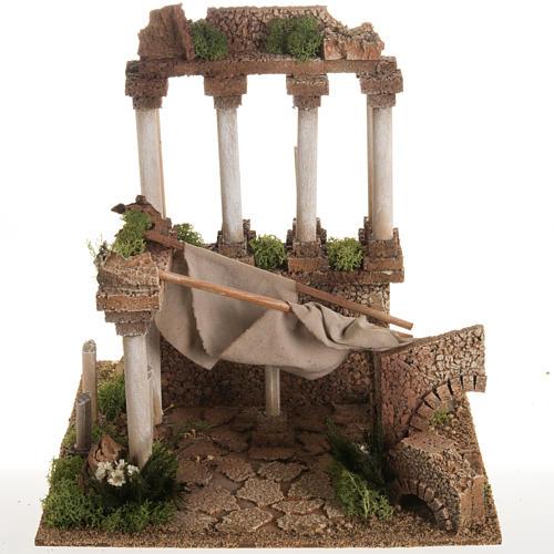 Antico foro romano presepe 1
