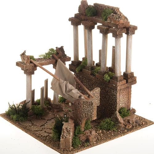 Antico foro romano presepe 3
