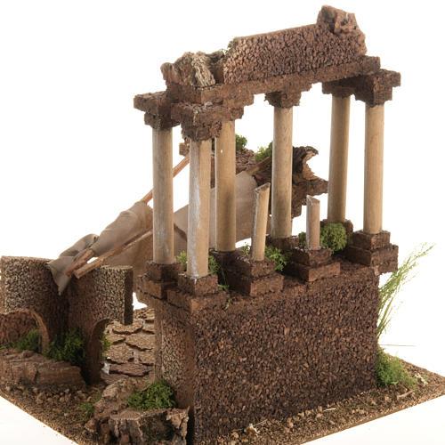 Antico foro romano presepe 4
