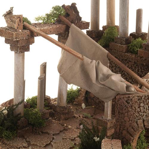 Antico foro romano presepe 5