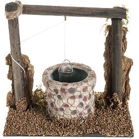 Häuser, Szenen und Geschäfte für Krippe: Brunnen für Krippe 14x14x9 cm