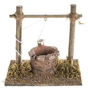 Mini puits crèche Noel 12x11x8 cm s1