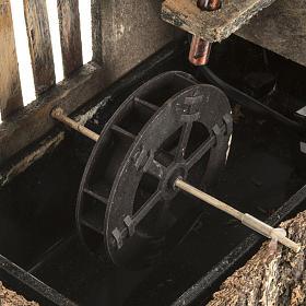 Mulino ad acqua presepe con sughero 2.5w s2