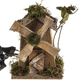 Moulin à vent crèche Noel 4W 15-18t/m 18x13x9 s1
