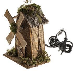 Moulin à vent crèche Noel 4W 15-18t/m 18x13x9 s3